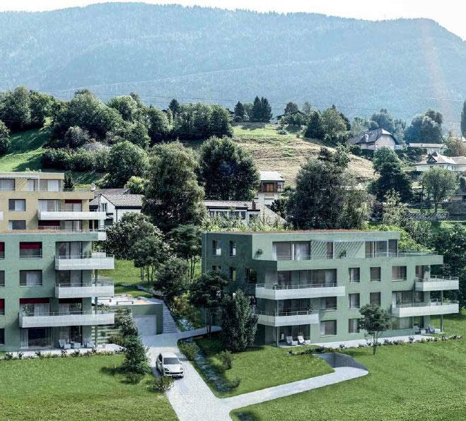 4.5 Zimmerwohnung, Bachhalteweg, Brig